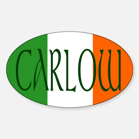 County Carlow Oval Decal