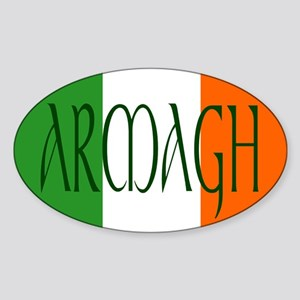 County Armagh Oval Sticker