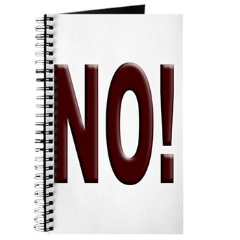 No, Nein, Non, Nyet, Nope Journal