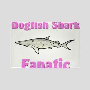 Dogfish Shark Fanatic Rectangle Magnet