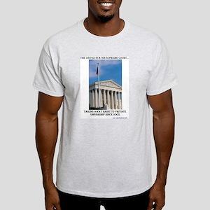US Supreme Court Ruling Ash Grey T-Shirt