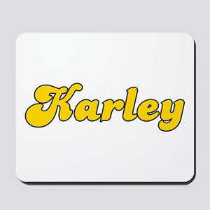 Retro Karley (Gold) Mousepad