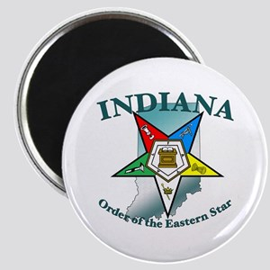 Indiana Eastern Star Magnet