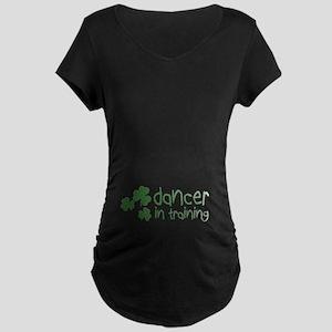 Dancer In Training Maternity Dark T-Shirt