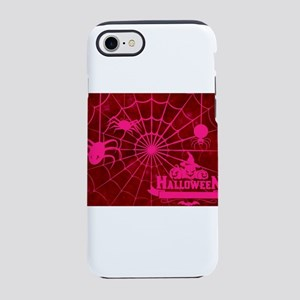 Red Halloween Web iPhone 8/7 Tough Case