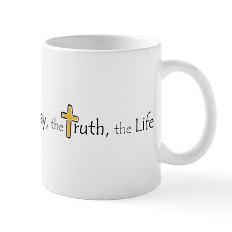 3-Way_truth_life Mugs
