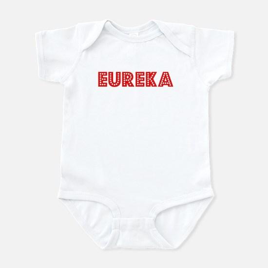 Retro Eureka (Red) Infant Bodysuit
