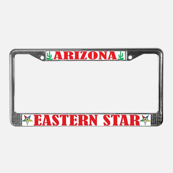 Arizona Eastern Star License Plate Frame