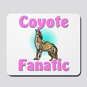 Coyote Fanatic Mousepad