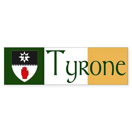 Tyrone Bumper Sticker (10 pk)