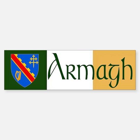 County Armagh Bumper Bumper Bumper Sticker