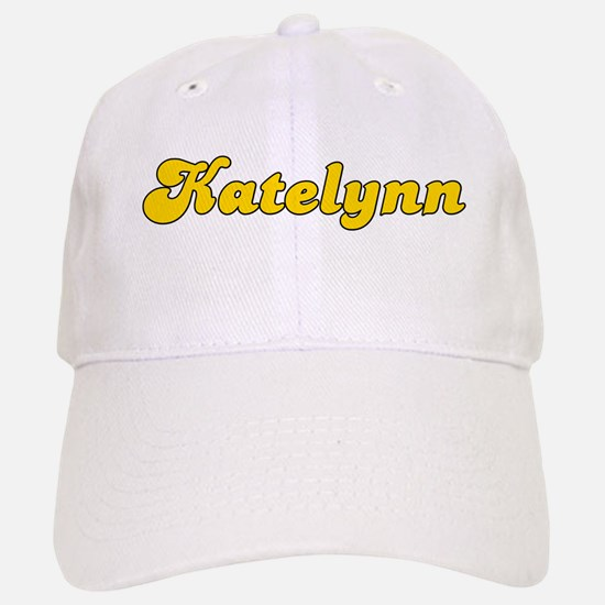 Retro Katelynn (Gold) Baseball Baseball Cap
