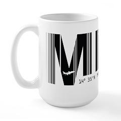 Manila Philippines MNL Air Wear Large Mug