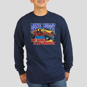 Dune Buggy Sandbox Long Sleeve Dark T-Shirt