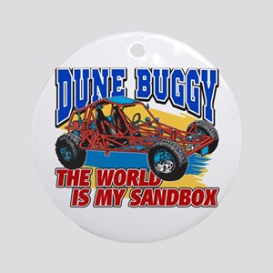 Dune Buggy Sandbox Ornament (Round)