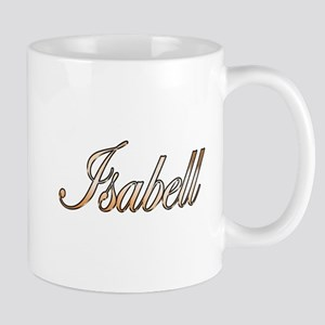 Gold Isabell Mugs