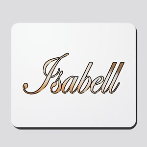 Gold Isabell Mousepad