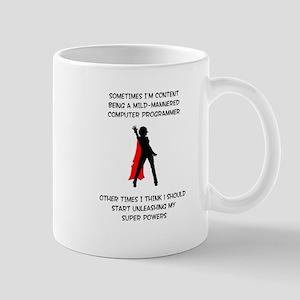 Programming Superheroine Mug