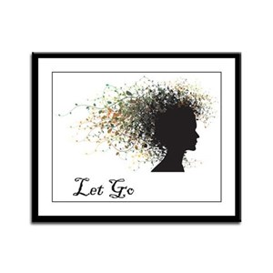 Let Go Framed Panel Print