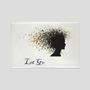 Let Go Rectangle Magnet