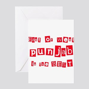East or West Punjab is the Be Greeting Card