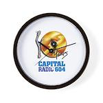 Capital 604 Wall Clock