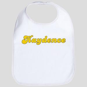Retro Kaydence (Gold) Bib