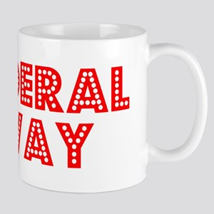 Retro Federal Way (Red) Mug