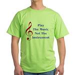 Play The Music Green T-Shirt