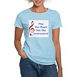Play The Music Women's Light T-Shirt