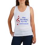 Play The Music Women's Tank Top