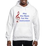 Play The Music Hooded Sweatshirt
