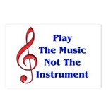 Play The Music Postcards (Package of 8)