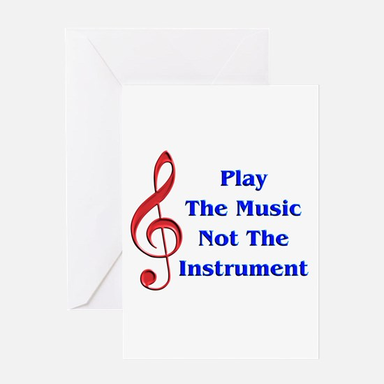 Play The Music Greeting Card
