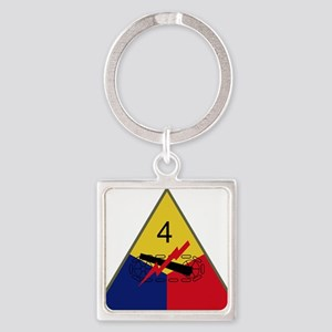 4th Armored Division Keychains