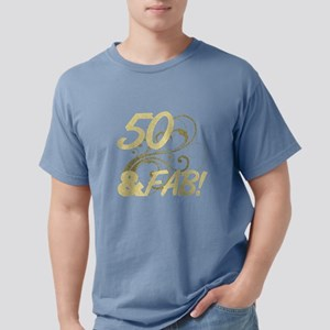 50 And Fabulous (Glitter) T-Shirt