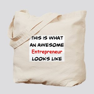 awesome entrepreneur Tote Bag