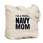 Navy For Mom's Tote Bag