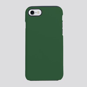 Solid Hunter Green iPhone 8/7 Tough Case
