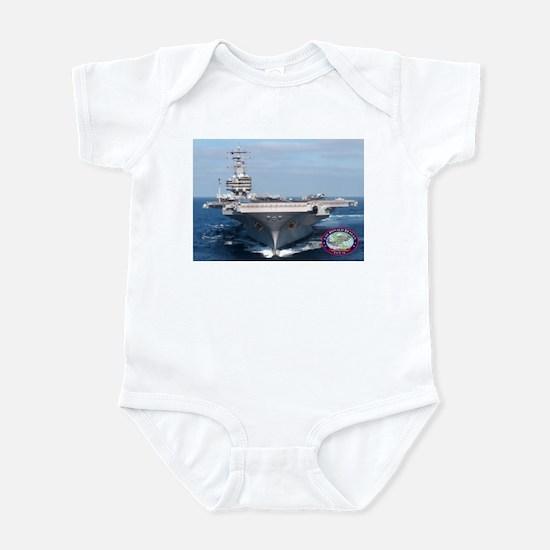 USS Ronald Reagan CVN-76 Infant Bodysuit
