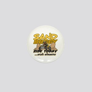 Sand Buggy Ride Today Mini Button