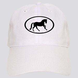 Canter Horse Oval Cap
