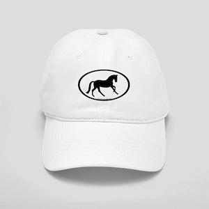 Canter Horse Oval Cap