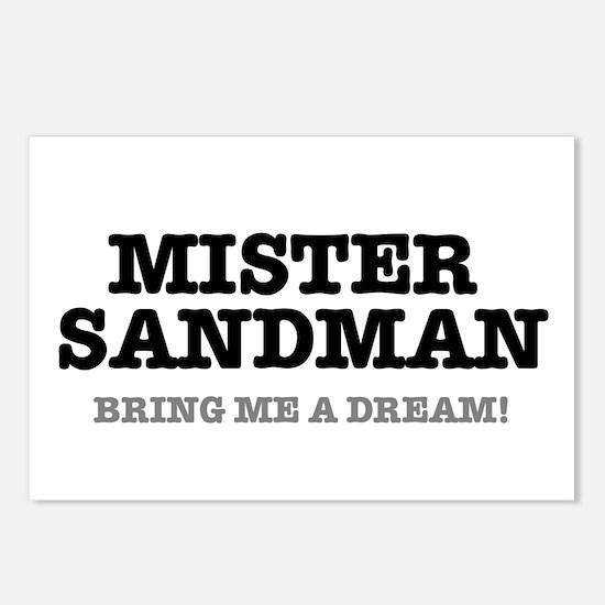 MISTER SANDMAN - BRING ME Postcards (Package of 8)