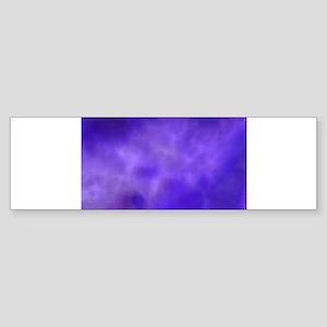 Purple Smoke Cloud Bumper Sticker