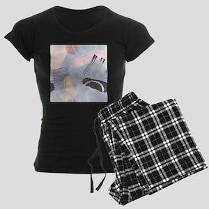 Colorful brushstrokes artsy composition Pajamas