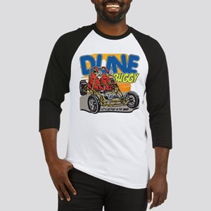 Dune Buggy Let's Go Play in the Sa Baseball Jersey