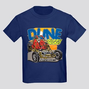 Dune Buggy Let's Go Play in the Kids Dark T-Shirt