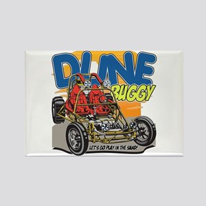 Dune Buggy Let's Go Play in the S Rectangle Magnet