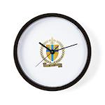 BELANGER Family Crest Wall Clock